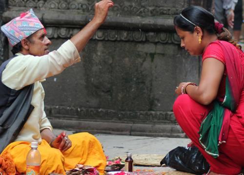 Festival Celebration in Nepal