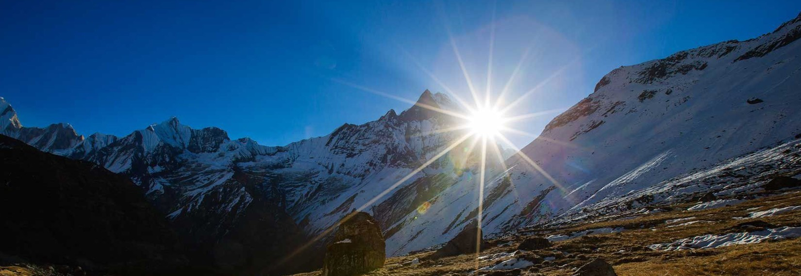 Sunrise from Annapurna Base Camp