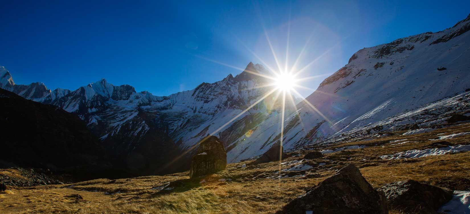 Himalayas Sunrise