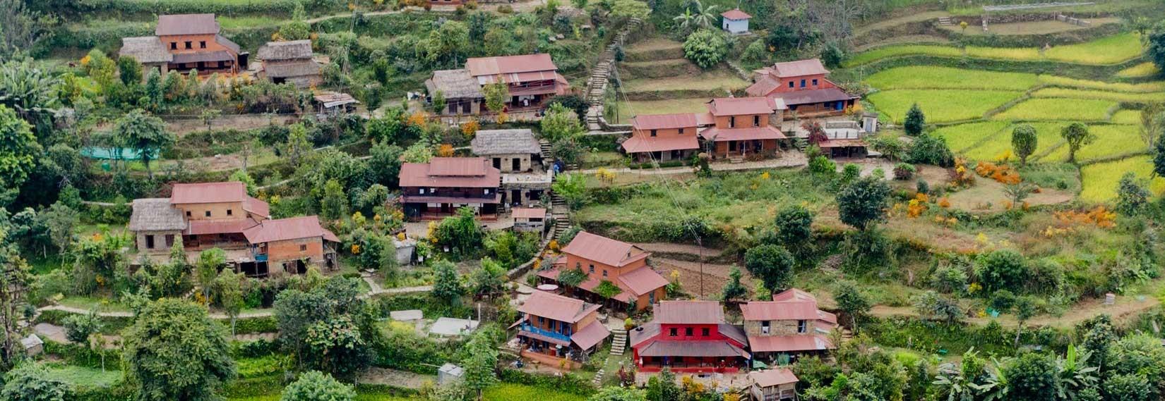 Riepe Village in Nepal