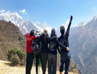 Group pic from Everest view