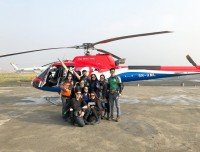 Helicopter from Kathmadu to Lukla