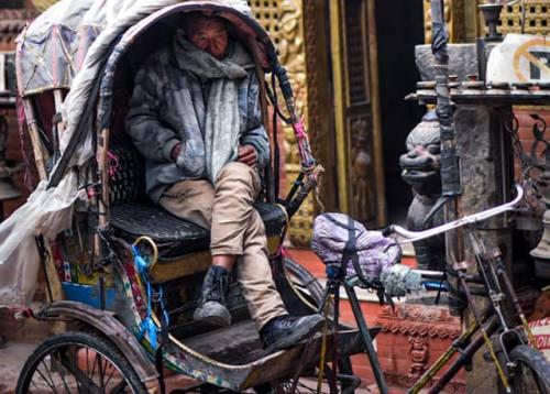Kathmandu Durbarsquare Rickshaw Tour